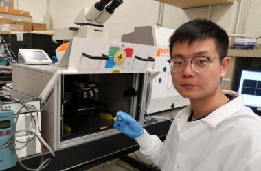 La nouvelle «métasurface» accordable du MIT s'apparente à un couteau suisse optique