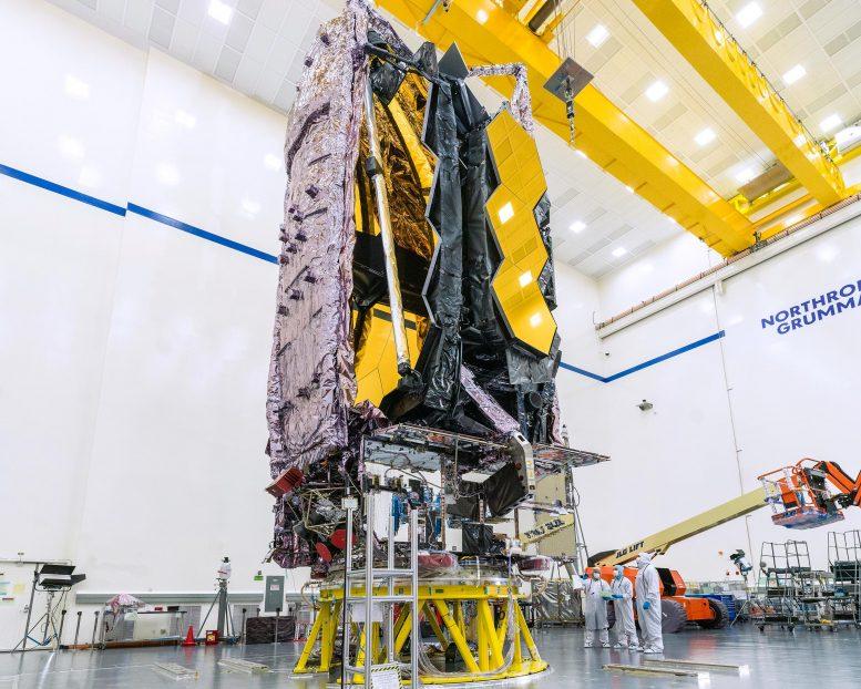 Le télescope spatial James Webb de la NASA assemblé et testé