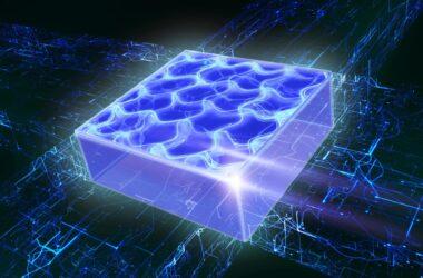 Les gaz quantiques supersolides dans une nouvelle dimension