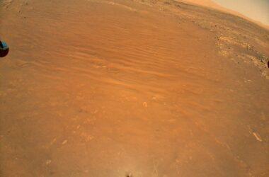 L'hélicoptère Ingenuity Mars de la NASA repère Perseverance Rover d'en haut – pouvez-vous le voir ?