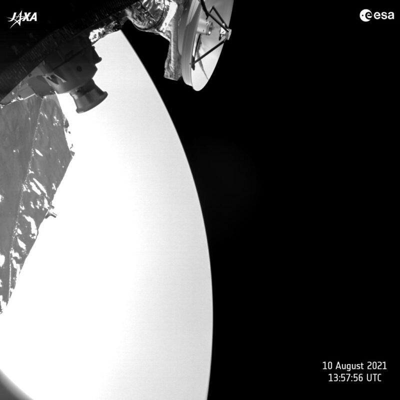 BepiColombo Skims Past Venus