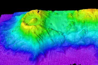 Un volcan sous-marin découvert près de l'île Christmas qui ressemble à l'œil de Sauron