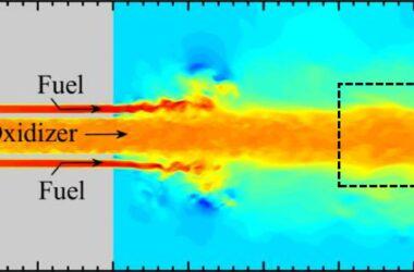 Oscillations dangereuses dans les moteurs-fusées entraînées par le débit de carburant et les fluctuations de chaleur