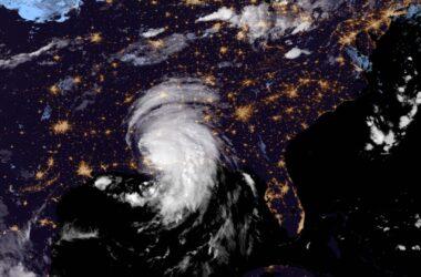 Une superbe image de la NASA capture la tempête tropicale Ida lors de son passage au-dessus du sud des États-Unis