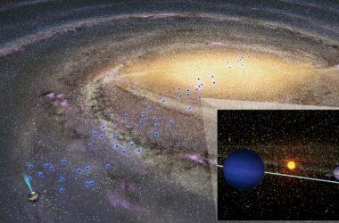 Des planètes froides existent tout au long de la Voie lactée – même dans le bulbe galactique