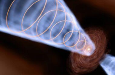 Les astronomes découvrent la rotation ultra-rapide du jet de Baby Star