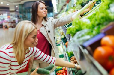 Supermarket Vegetable Shopping
