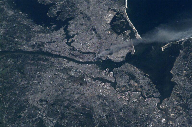 Les superbes images de la NASA du 11 septembre 2001, prises depuis l'espace