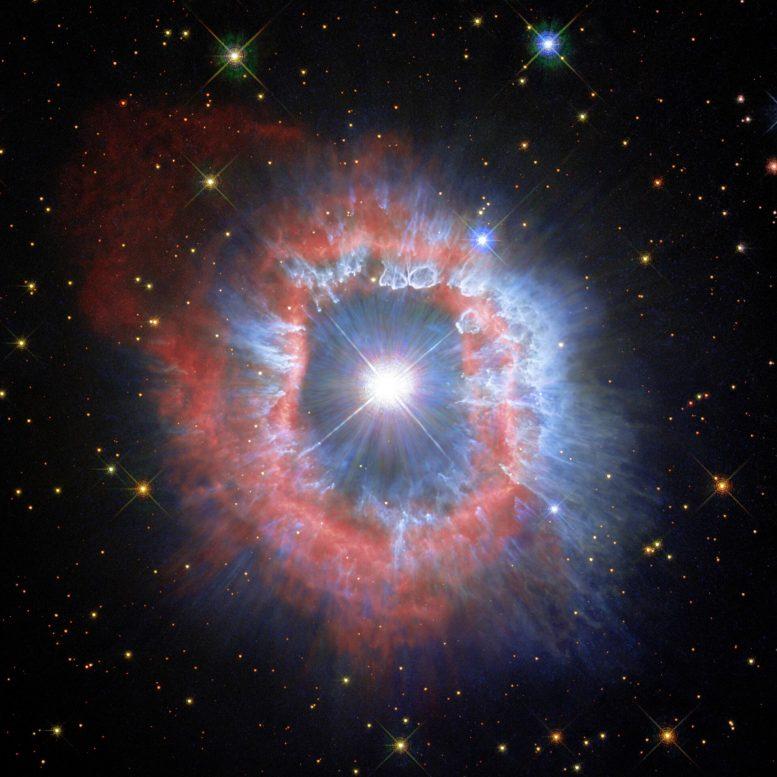 Distribution de poussière AG Carinae