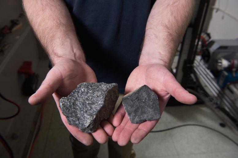 Faux rochers de lune