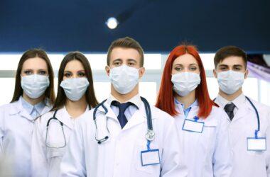 Doctors Medical Workers Masks