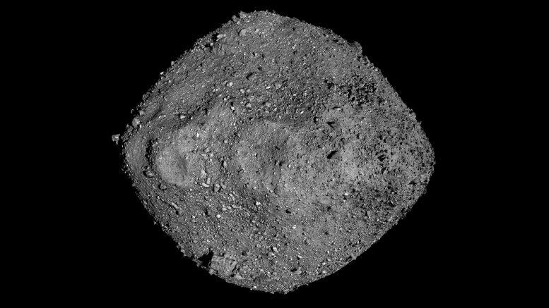 Astéroïde Bennu Mosaïque OSIRIS-REx