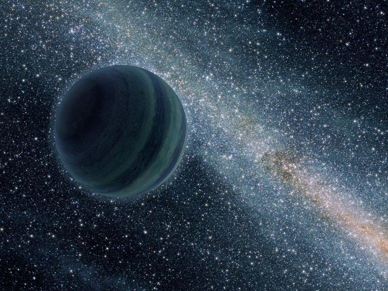 Planète voyou semblable à Jupiter