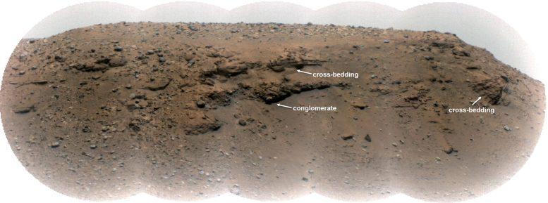 Escarpement de Mars