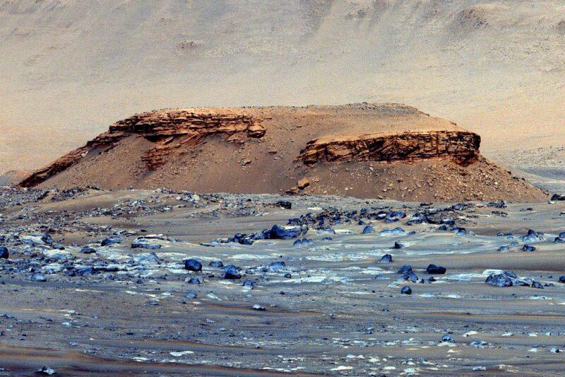 Kodiak Butte Jezero Crater