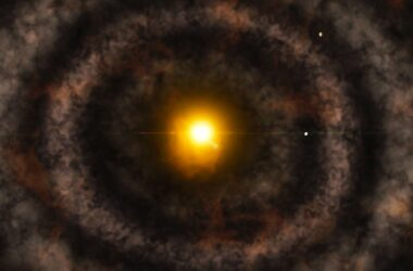 Mysterious Gap Solar System's Protoplanetary Disk