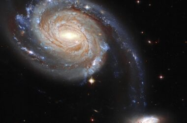 Hubble Spies Galaxy est voué à une fin catastrophique