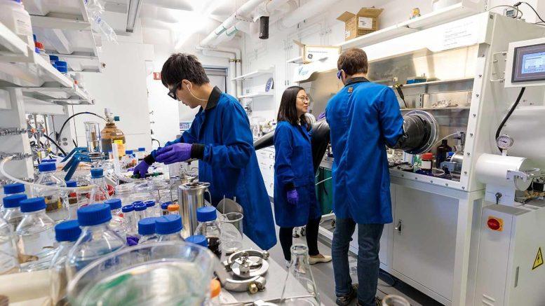 Le laboratoire de Chong Liu